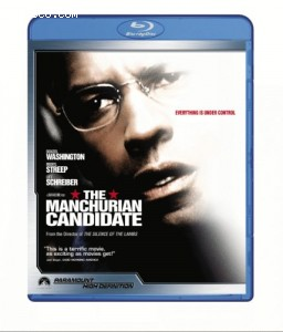 Manchurian Candidate [Blu-ray], The Cover