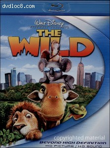 Wild, The (Blu-ray) Cover