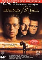Legends Of The Fall: Collector's Edition Cover