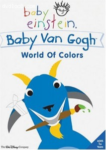 Baby Einstein - Baby Van Gogh - World of Colors Cover