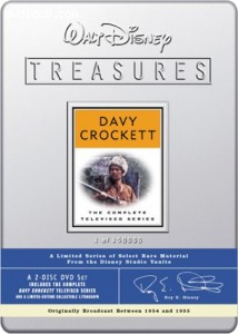 Walt Disney Treasures - The Complete Davy Crockett Televised Series