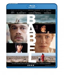 Babel [Blu-ray] Cover