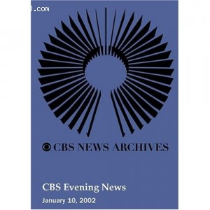 CBS Evening News (January 10, 2002) Cover