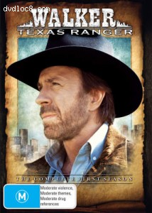 Walker, Texas Ranger-The First Season Cover