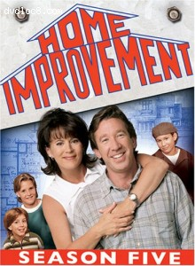 Home Improvement - The Complete Fifth Season Cover