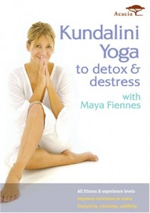 Kundalini Yoga to Detox and Destress with Maya Fiennes Cover