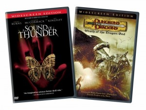 Sound of Thunder/Dungeons and Dragons: Wrath of the Dragon God, A (2 Pack) Cover