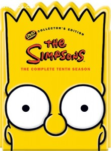 Simpsons - The Complete Tenth Season (Collectible Bart Head Pack), The