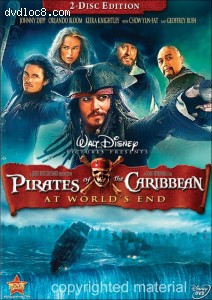 Pirates of the Caribbean - At World's End (Two-Disc Special Edition) Cover