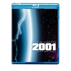 2001 - A Space Odyssey [Blu-ray] Cover