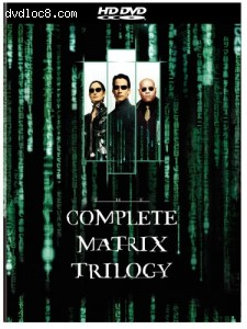 Complete Matrix Trilogy [HD DVD], The Cover