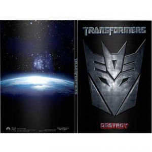 Transformers (Widescreen) (Future Shop Exclusive Decepticon Steelbook)