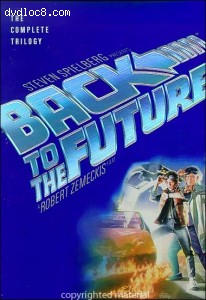 Back To The Future: The Complete Trilogy (Widescreen) Cover