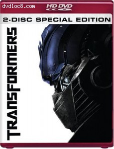 Transformers [HD DVD] Cover