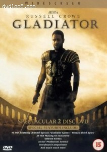 Gladiator (2000) - Two Disc Set Cover