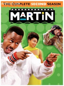 Martin - The Complete Second Season Cover