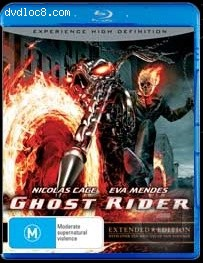 Ghost Rider (Extended Cut) [Blu-ray] Cover
