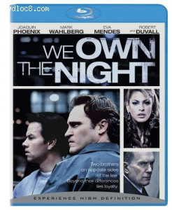 We Own the Night [Blu-ray] Cover