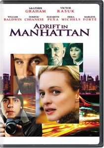 Adrift in Manhattan Cover