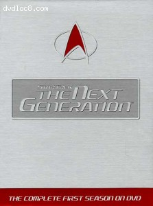 Star Trek: The Next Generation - Season 1 Cover