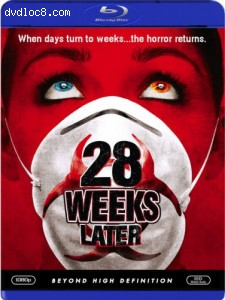 28 Weeks Later [Blu-ray] Cover