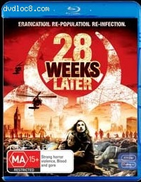 28 Weeks Later [Blu-ray] (Australia) Cover