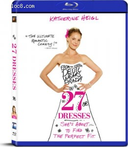 27 Dresses [Blu-ray] Cover