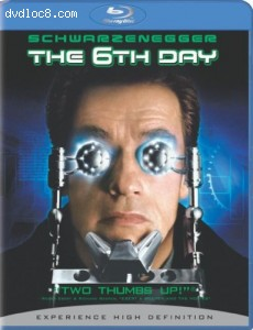 6th Day [Blu-ray], The Cover