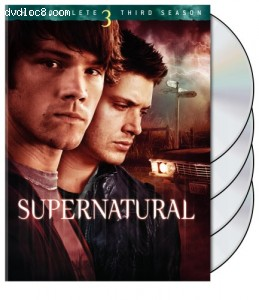 Supernatural - The Complete Third Season Cover