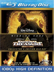 National Treasure [Blu-ray] Cover