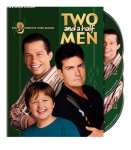 Two and a Half Men - The Complete Third Season Cover