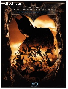 Batman Begins (Limited Edition Gift Set) [Blu-ray] Cover