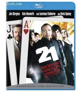 21 [Blu-ray] Cover