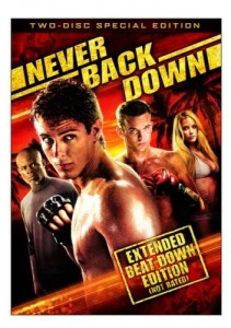 Never Back Down: Special Edition Cover