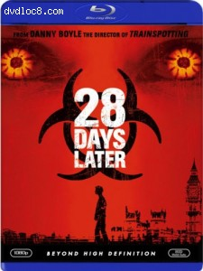 28 Days Later [Blu-ray] Cover
