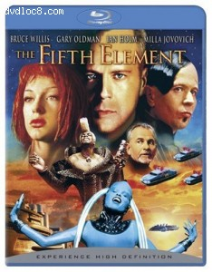 Fifth Element (Remastered) [Blu-ray], The