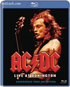 AC/DC: Live At Donington Cover