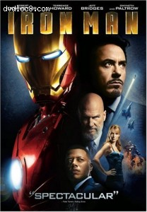 Iron Man (Single-Disc Edition) Cover