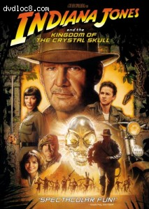 Indiana Jones and the Kingdom of the Crystal Skull (Single Disc) Cover