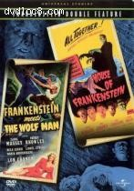Frankenstein Meets the Wolfman/House of Frankenstein: Double Bill Cover
