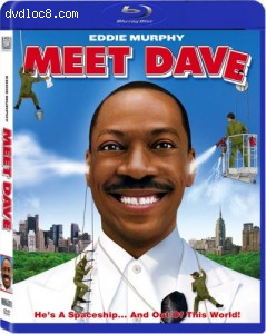 Meet Dave [Blu-ray] Cover