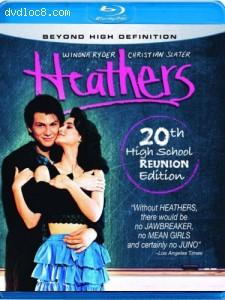 Heathers [Blu-ray] Cover