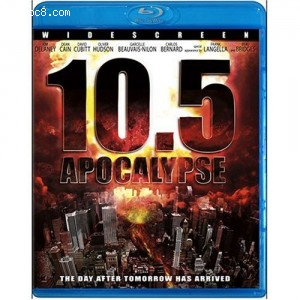 10.5 Apocalypse: The Complete Miniseries [Blu-ray] Cover