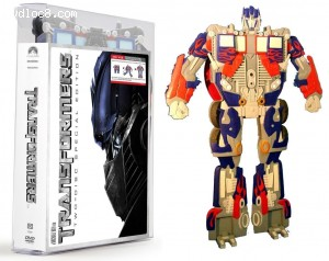 Transformers Two-Disc Special Edition (Target Exclusive Optimus Prime Transforming Packaging)