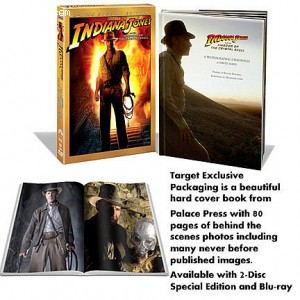 Indiana Jones and the Kingdom of the Crystal Skull (Target Exclusive 2 Disc Special Edition Hardcover Packaging) Cover