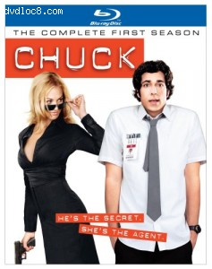 Chuck - The Complete First Season Cover