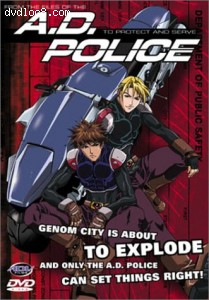A.D. Police - To Protect and Serve (Complete Series) Cover