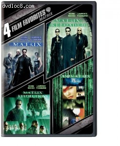 Matrix Collection: 4 Film Favorites, The Cover