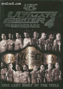 UFC: The Ultimate Fighter - Season 4 Cover