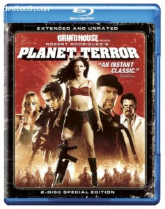 Planet Terror [Blu-ray] Cover